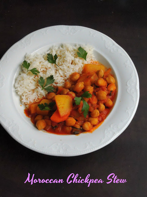 Moroccan Chickpea Stew,chickpeas Stew