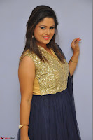 Shilpa Chakravarthy anchor and actress in anarkali dress  Exclusive 010.JPG