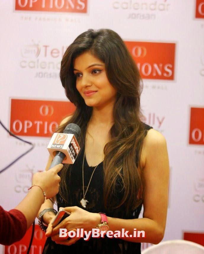 Rubina Dilaik, TV Actresses Visit Option's Mall