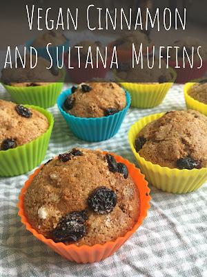 Cinnamon and Sultana Muffins - Vegan!