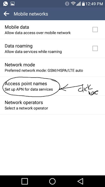 How to configure Camtel Cameroon APN for 4G Internet on PHONE