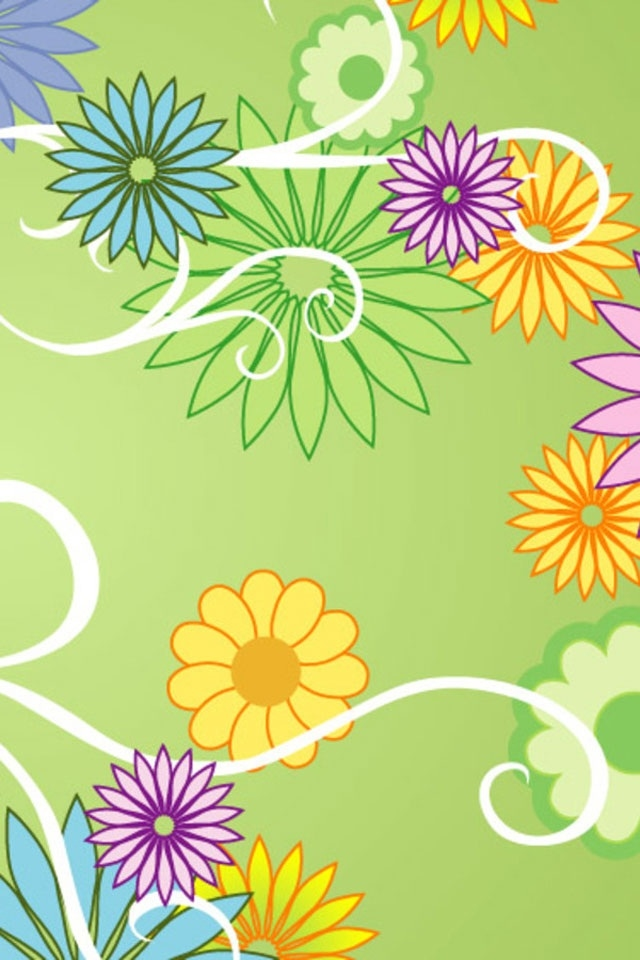 3d Wallpaper Water Drop Free Iphone Wallpapers Hd Awesome Color Abstract Flowers