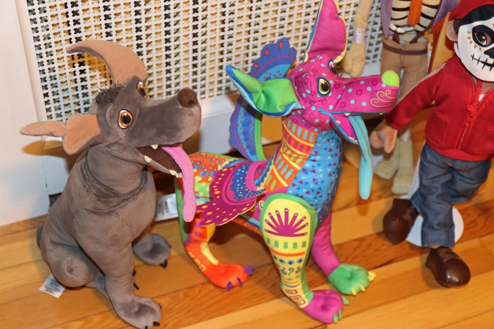 disney store coco plush toys dante