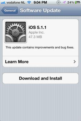 Iphone Tips: Ios 5.1.1 Ota Update Fixes Annoying Bugs