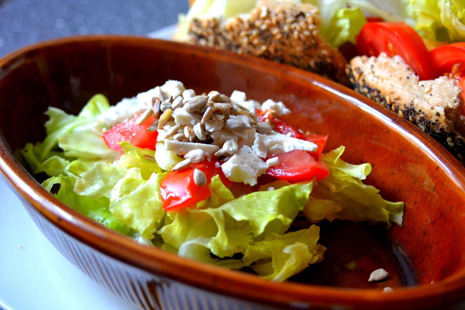 salat schafskäse lecker menü mittag