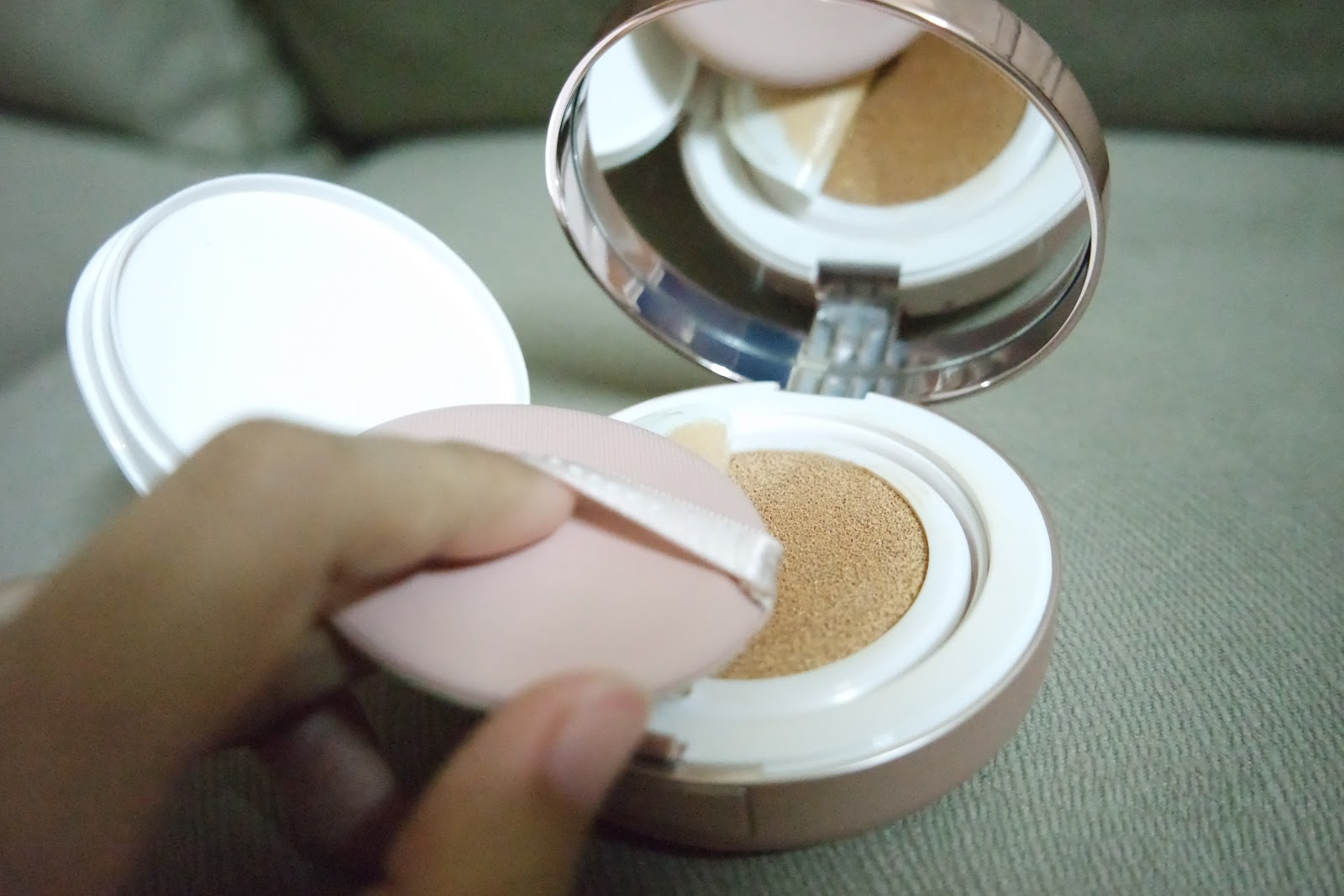 Wardah Instaperfect BB Cushion & City Blush Review. Buy or