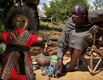 witch doctor wanga doll