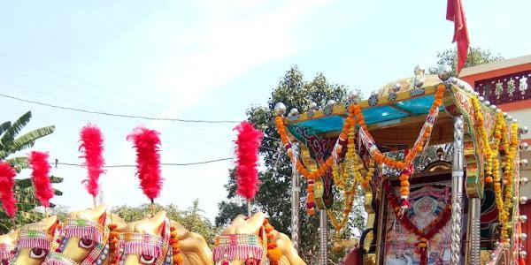 विश्वशिल्पी भगवान विश्वकर्मा की जयंती धूमधाम से मनाई, जुलुस में शामिल हुए समाजजन