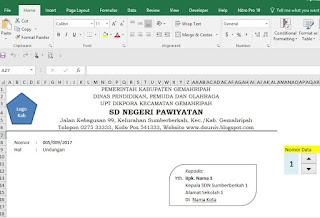 Aplikasi Amplop Surat Terbaru