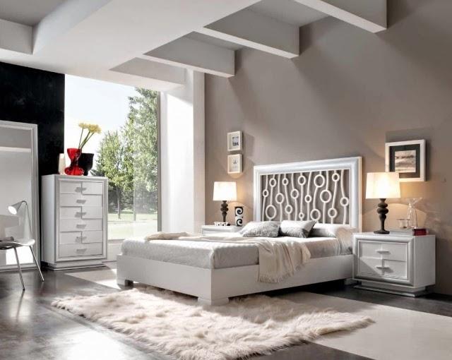 Decorar paredes de dormitorios dormitorios colores y estilos - Paredes color gris ...