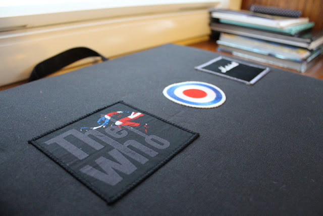 "Custom Seat Cushions with ""The Who"""