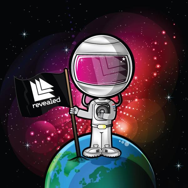 Vinyl Radio Hardwell Spaceman 2012