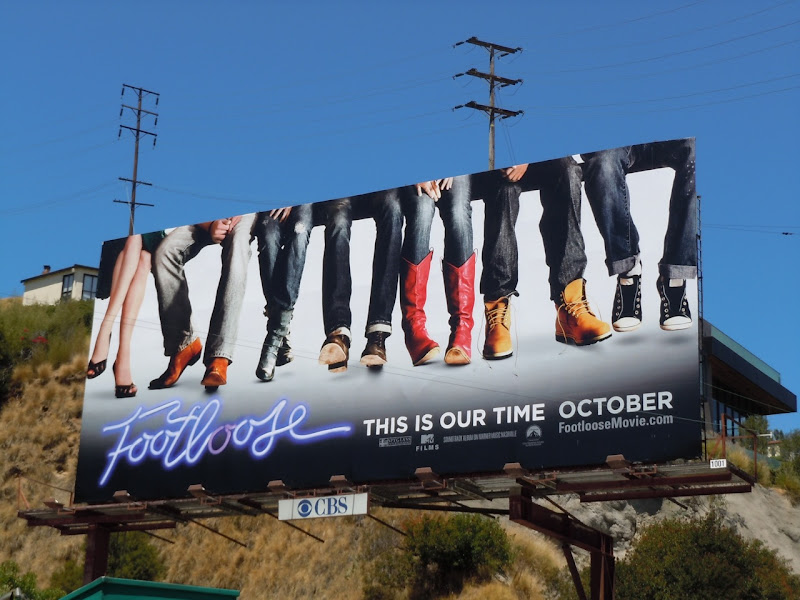 Footloose remake billboard
