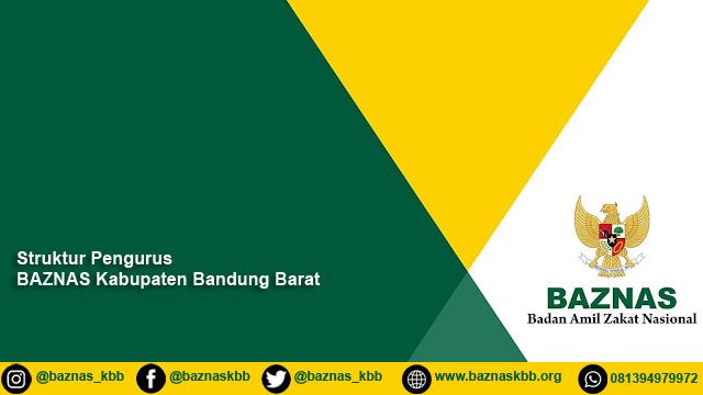 Struktur Organisasi BAZNAS Kabupaten Bandung Barat