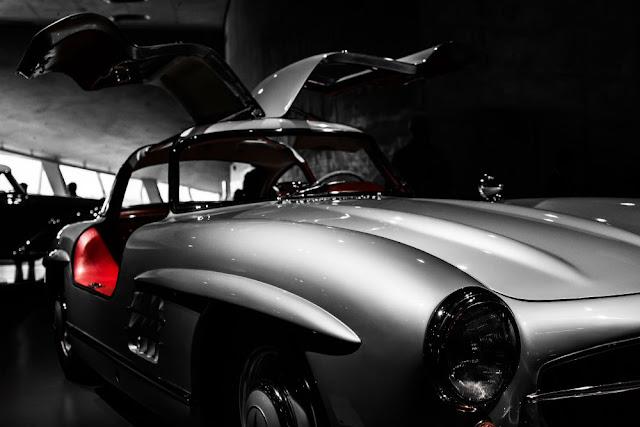Mercedes-Benz 300SL 1950s German classic sports car