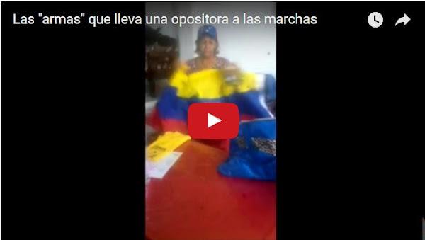 Mi Tía hizo un vídeo con el KIT PARA PROTESTAR