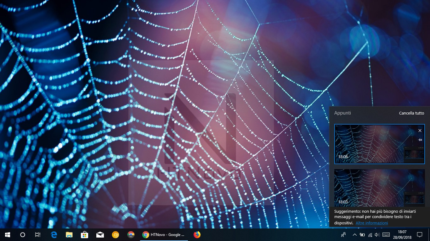 Appunti-windows-10-1809-october-2018-update