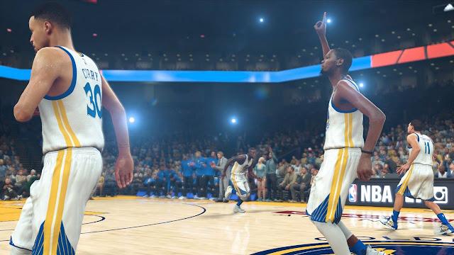 NBA 2K17 simula la temporada de NBA  de este año