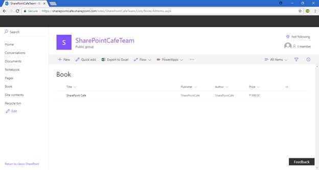 Office 365 SharePoint