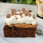Divine, traditional South-African Amarula Chocolate Caramel Cake ~ rich, sweet, moist and a must-have recipe !