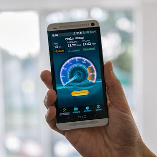 Ookla 3.0 speedtest.net released for Android smart phones and tablets with new UI and better tablet and high res scaling options