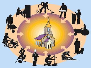 Resultado de imagen para sirviendo en la iglesia