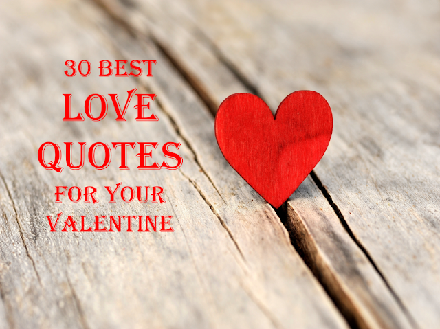30 Best Love Quotes for Your Valentine
