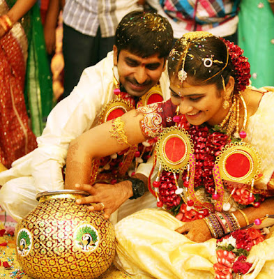 Gopichand And Reshma wedding rituals