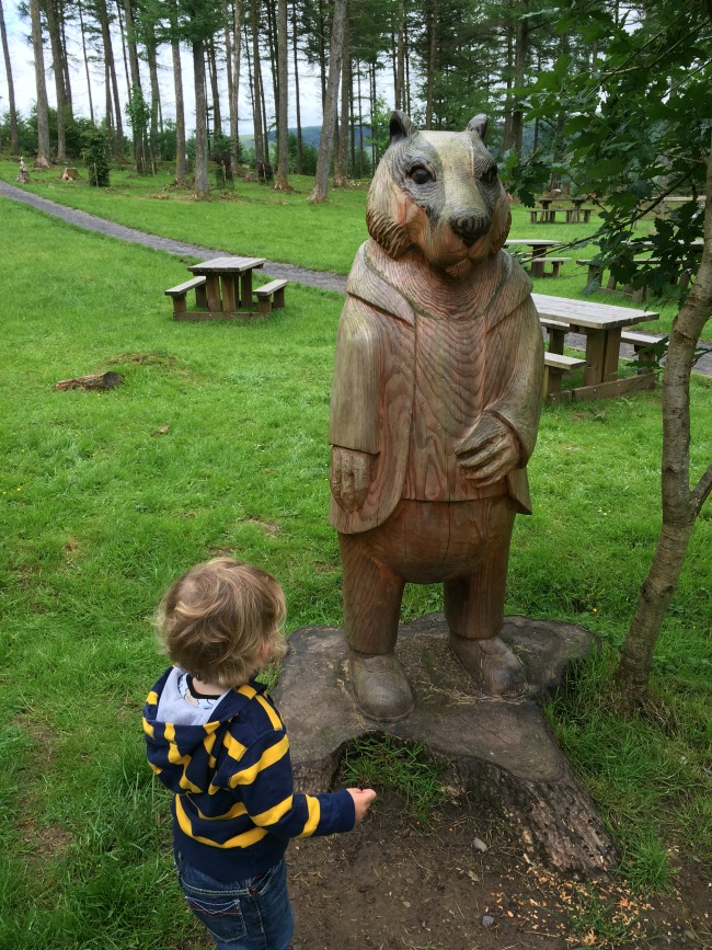 Garwnant-Visitor-Centre-A-Toddler-Explores-mr-badger