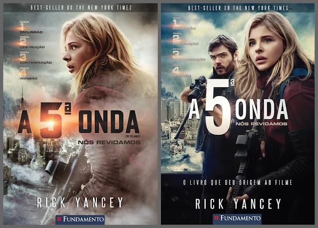 A 5ª Onda - A quinta onda - filme - livro - editora fundamento - lançamento - cinema - estreia