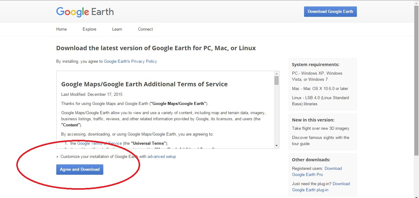 NehaTECH: HOW TO DOWNLOAD GOOGLE EARTH ON COMPUTER