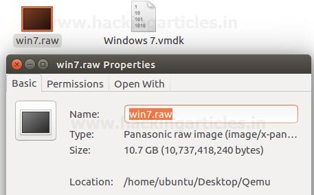 Convert Virtual Machine to Raw Images for Forensics (Qemu-Img)