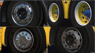 Abasstreppas Wheels Pack v 3.0