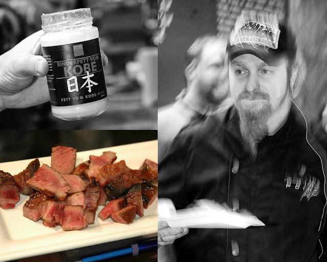 Ist in Personalunion Koch und Bio-Wagyu-Züchter, Catering-Unternehmer und Heavy Metal-Musiker: Ludwig Lucki Maurer kocht auf der eat&STYLE mit Fleisch von Otto-Gourmet.