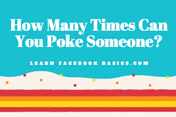 How Many Times Can You Poke Someone?