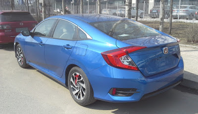 Honda Civic 2017 poze