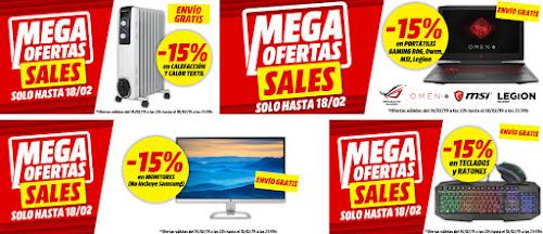 Top 15 artículos promociones Mega Ofertas Sales de Media Markt