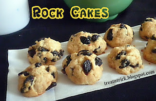 Rock Cakes Eggless Recipe  @ treatntrick.blogspot.com