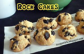 Rock Cakes Eggless Recipe  @ treatntrick.blogspot.com