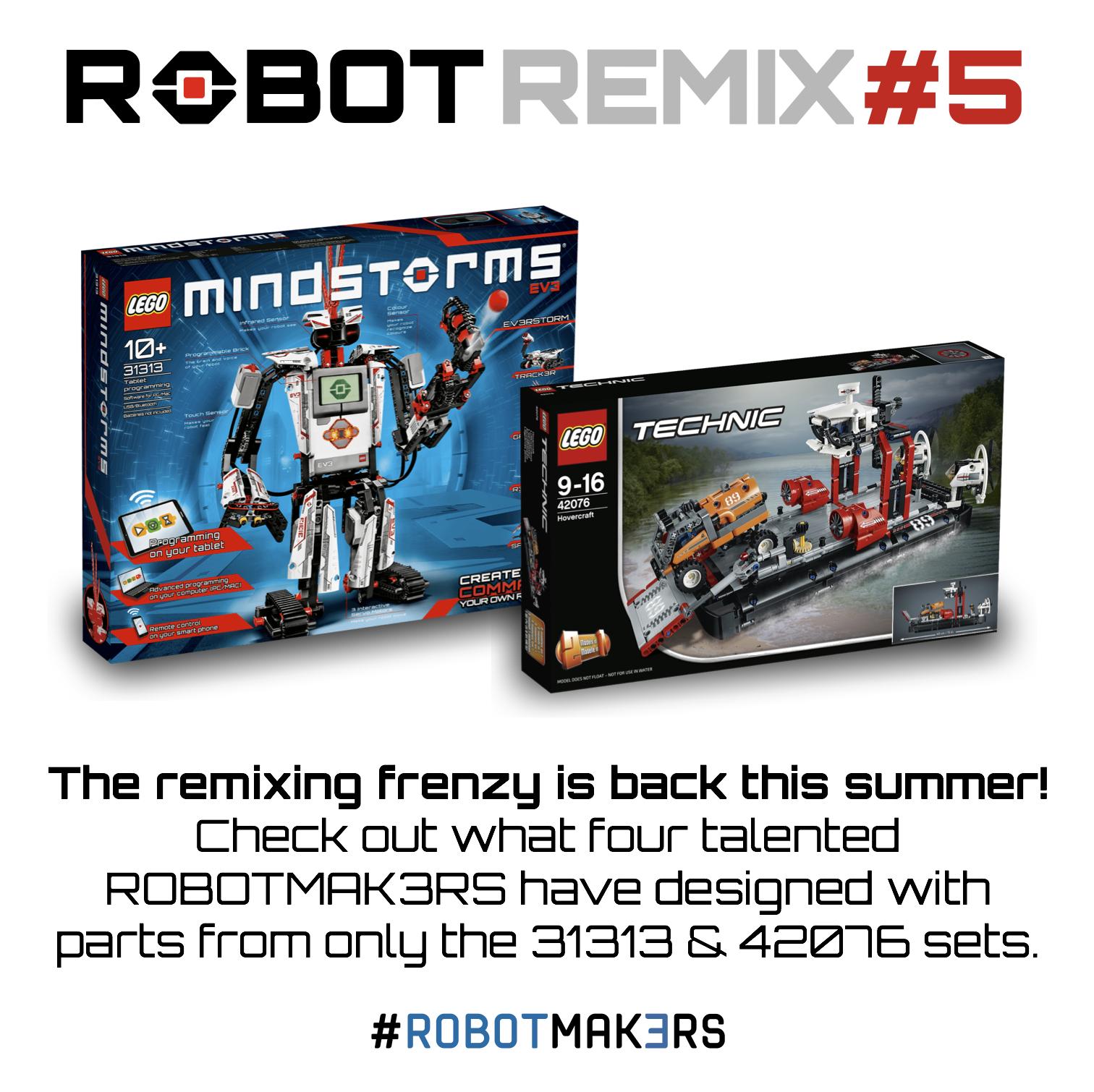 ROBOT REMIX #5   The NXT STEP is EV3 - LEGO® MINDSTORMS® Blog