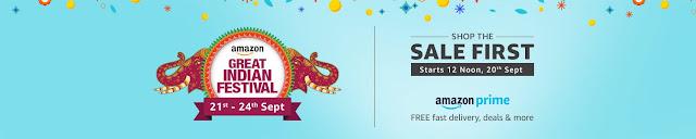 Great Indian Festival Amazon Sale