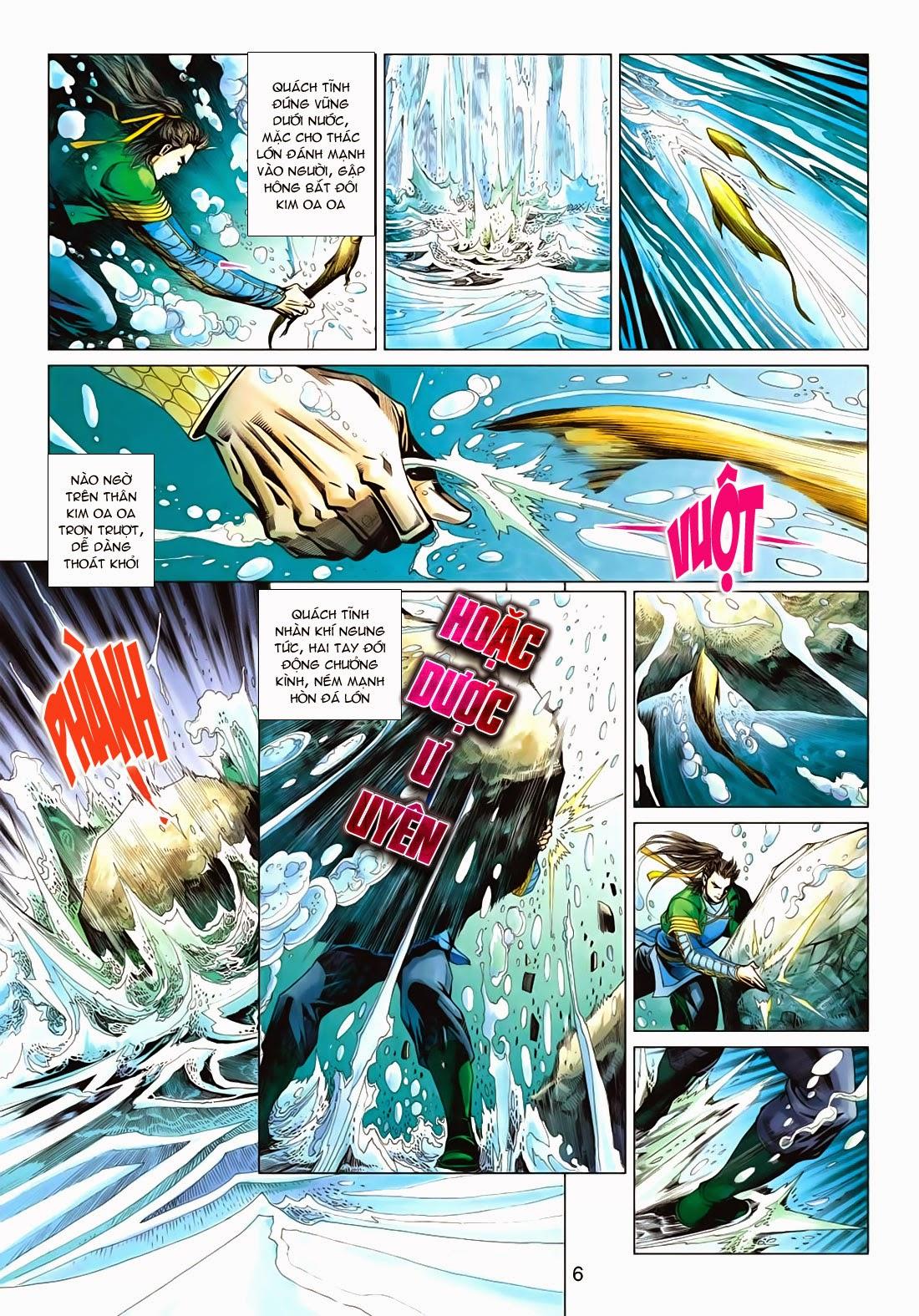 Anh Hùng Xạ Điêu anh hùng xạ đêu chap 72: ngư tiều canh độc trang 6
