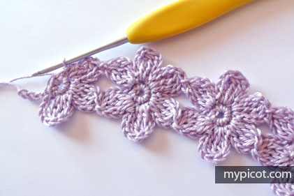 Ergahandmade Crochet Flower Stitch Diagram Free Pattern Step By