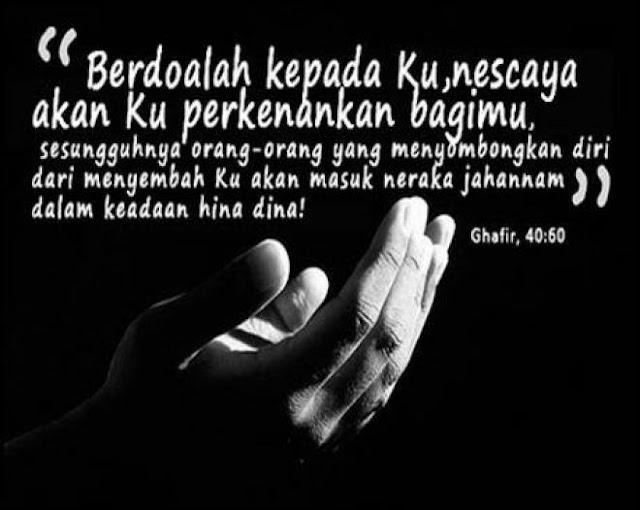 kekuatan doa dalam islam