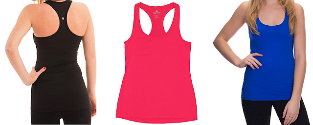 90 Degree by Reflex Powerflex Racerback Tank Top $13