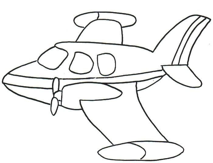 Desenhos Para Pintar Avioes Para Colorir E Pintar Avioes