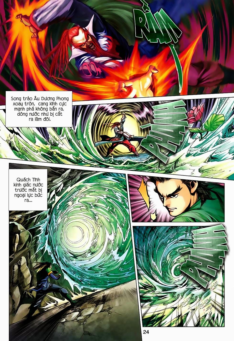 Anh Hùng Xạ Điêu anh hùng xạ đêu chap 56: tuyệt tình vô nghĩa lãnh huyết ác niệm trang 24