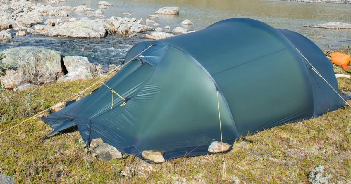 Eventyr i Norge: Utstyrsmodding Telt