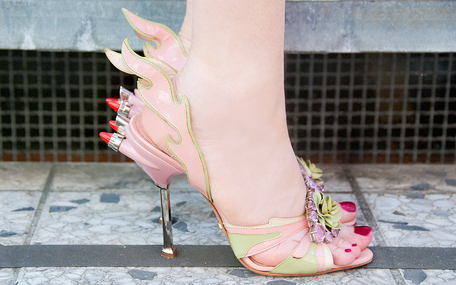 Prada SS12, cadillac shoes, pink stiletto