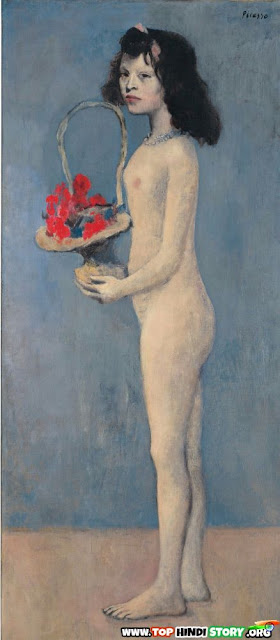 Pablo Picasso young girl